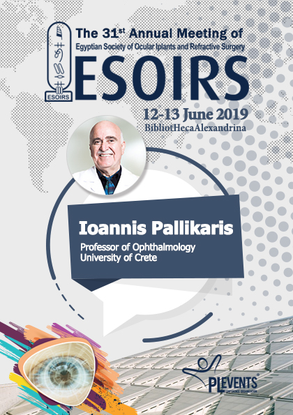 ESOIRS 2019 - The 31st Annual Meeting of Egyptian Society of Ocular Implants and Refractive Surgery